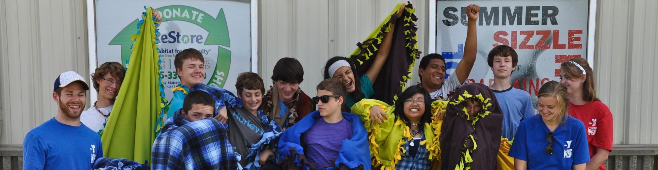 Tepeetonka Leadership Camp Blankets