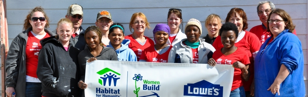 Women Build Day May 11, 2013