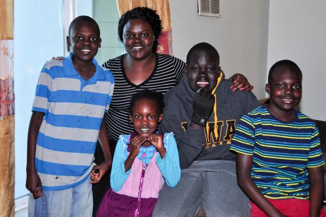 Nyaping Lia & her family