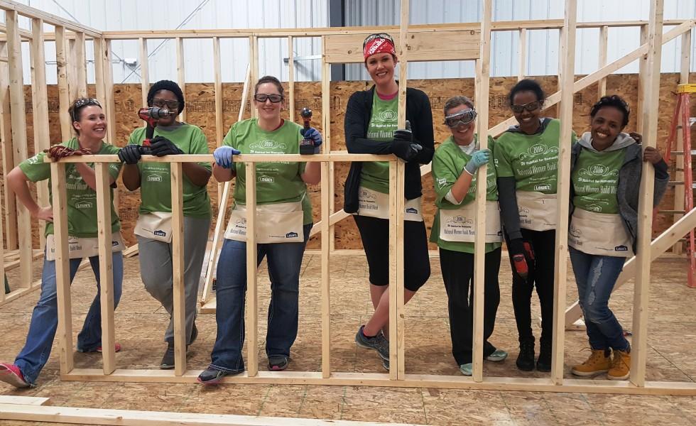 2016 Women Build Day