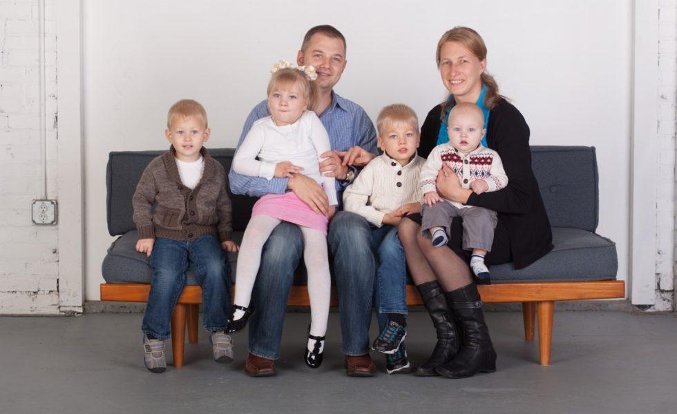 Rusty, Yana and Family