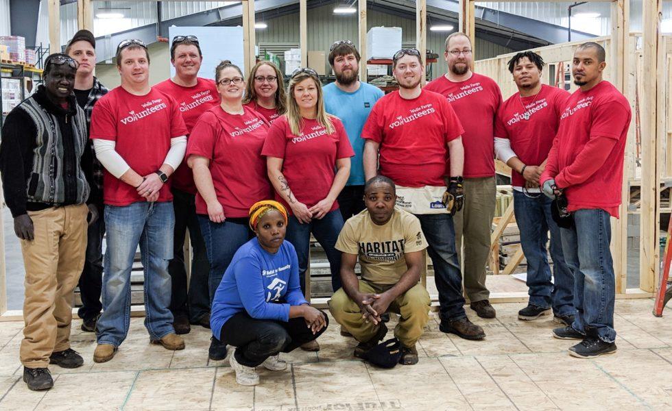 Wells Fargo volunteers 2019