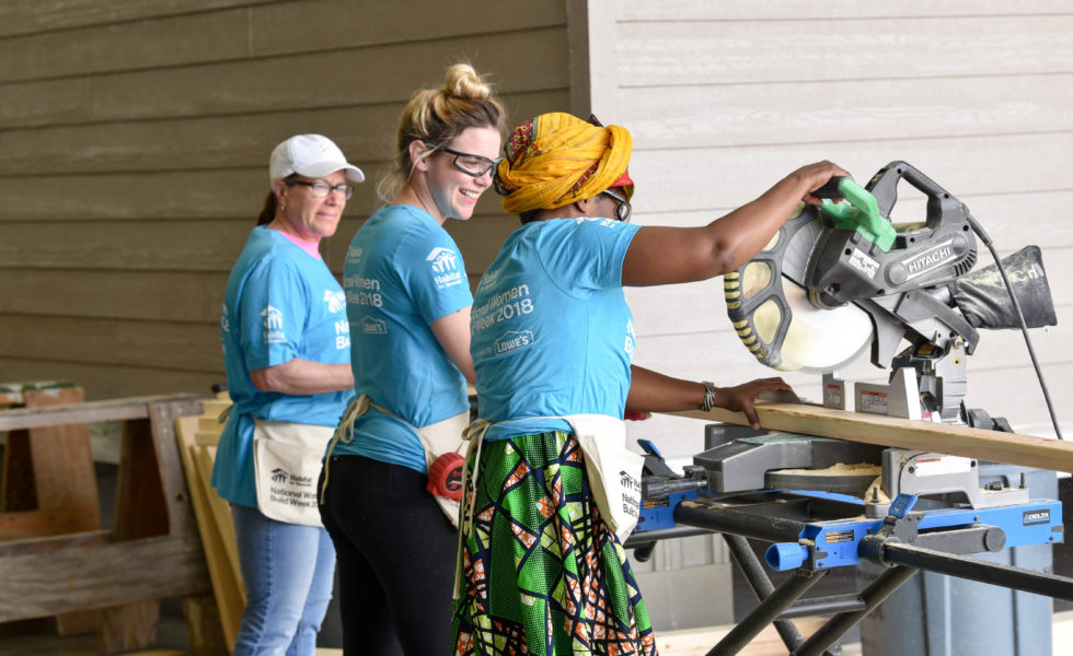Women Build Day 2018