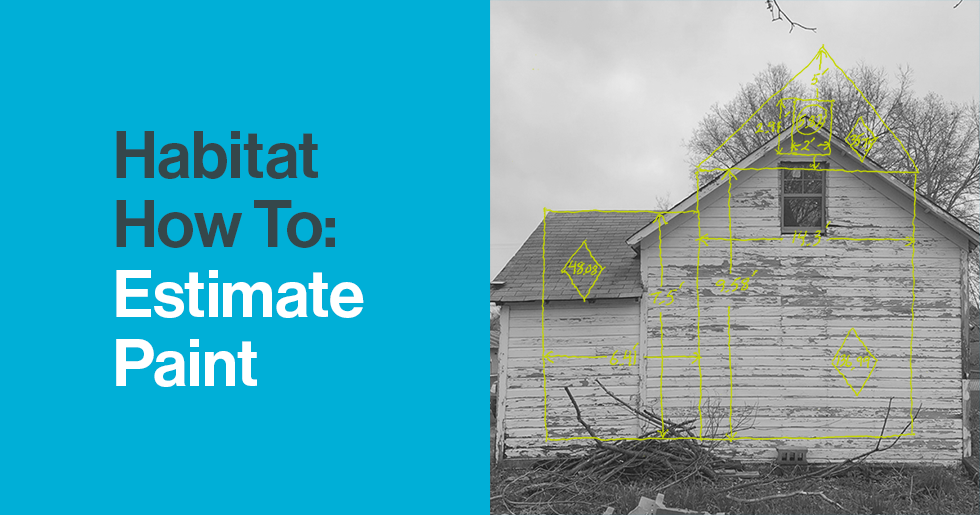 Habitat How To Estimate Paint