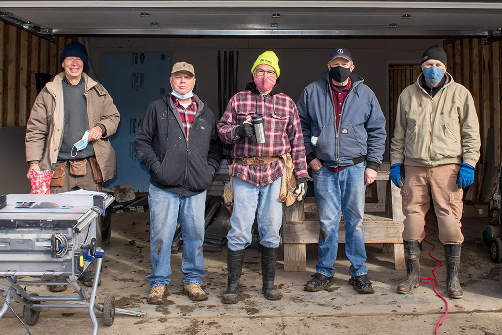 Master's Builders, Construction Volunteer Group of the Year