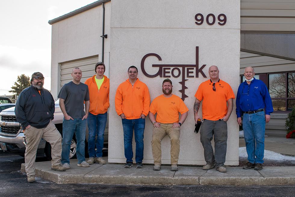 Corporate Volunteer Group of the Year, Geotek Engineering & Testing