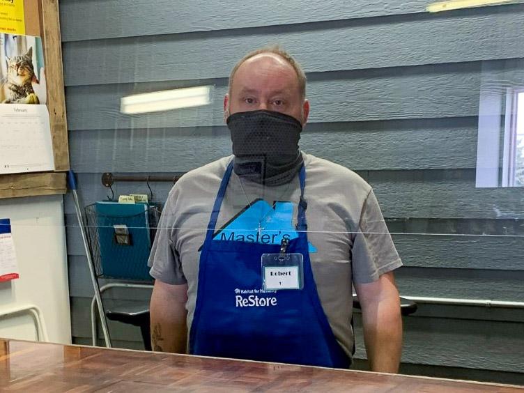 ReStore Volunteer of the Year, Robert Askren