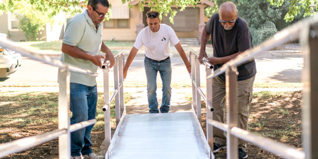 Neighborhood Revitalization Adds In-Home Services for Limited Mobility