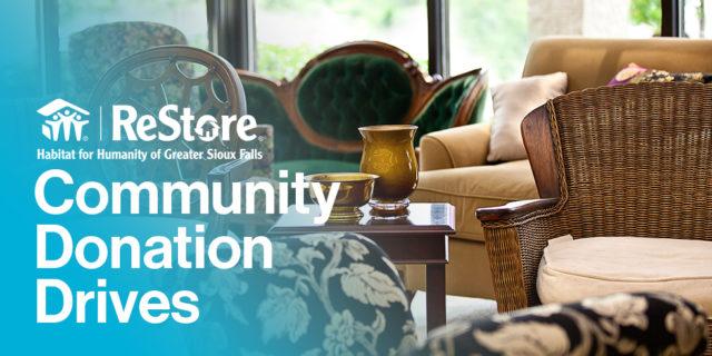ReStore Community Donation Drives