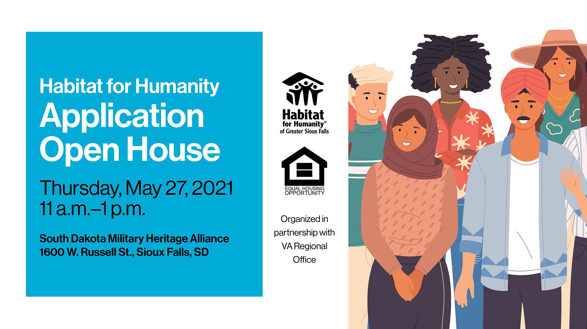 Habitat Hosting Application Open House